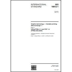 ISO 16612-1:2005 - Hard Copy