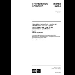 ISO/IEC 15426-1:2006 - Hard Copy