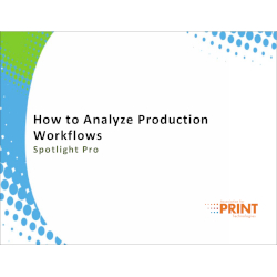 How to Analyze Production Workflows