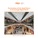 The Evolution of U.S. Retail Print in an  Increasingly Digital World