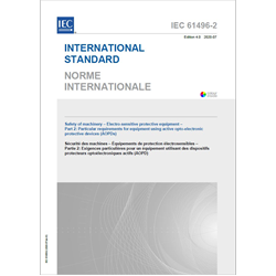 IEC 61496-2, Ed. 4.0 b:2020
