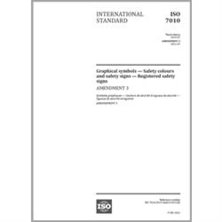 ISO 7010:2019/Amendment 3:2021