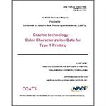 CGATS TR 001 Data - Hard Copy