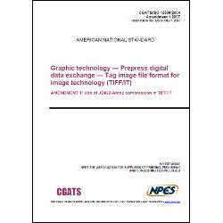 CGATS/ISO 12639:2004 / Amendment 1:2007 - Hard Copy