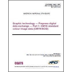 CGATS/ISO 12640-1:2007 - Hard Copy